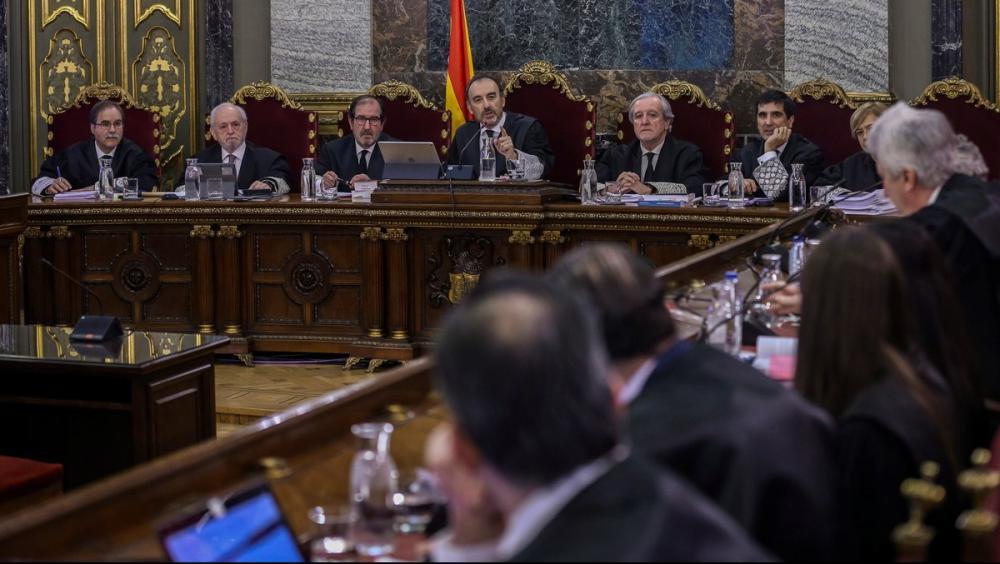 Una imatge del judici