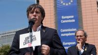 Puigdemont i Torra, aquest divendres a Brussel·les