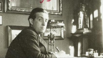 Eugeni Xammar l'any 1920, quan treballava a la Societat de Nacions, a Ginebra.