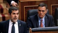 Sànchez passa per l'escó de Sánchez al Congrés després de felicitar Batet