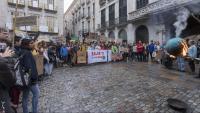 Els estudiants es van mobilitzar a Girona