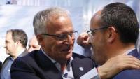 Bou amb el president del PPC, Alejandro Fernández