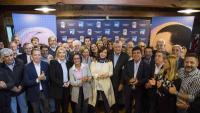 Cristina Fernández de Kirchner durant la reunió que va mantenir dimarts passat amb membres del seu partit
