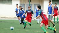 Un dels partits de la primera edició de la Dracs & Queens Cup, organitzat pels Dracs de Barcelona