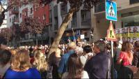 Protesta davant PSC Girona