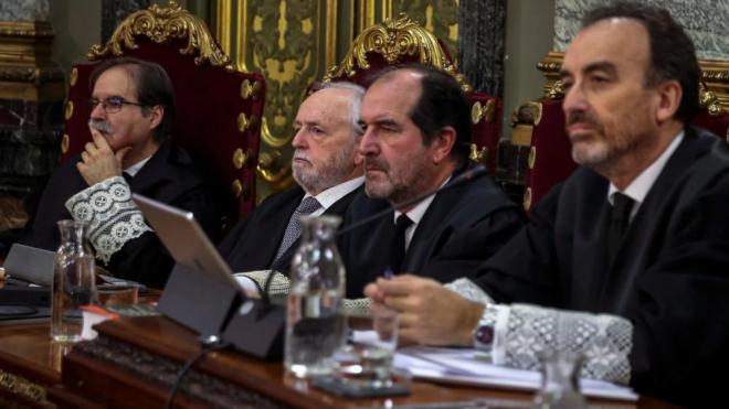 El judici al Suprem dedica la setmana a veure els vídeos que no s'han exhibit durant els interrogatoris