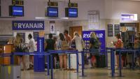 Espai de Ryanair a l'aeroport del Prat