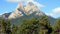 Rescaten il·lesos tres escaladors que feien ràpel al Pedraforca