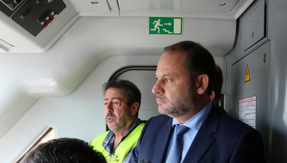 El ministre de Foment en funcions, José Luís Ábalos