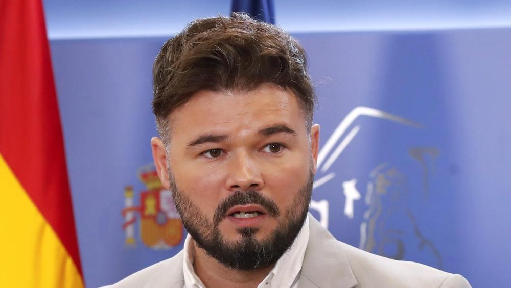 El portaveu d'ERC al Congrés, Gabriel Rufián, en una imatge d'arxiu