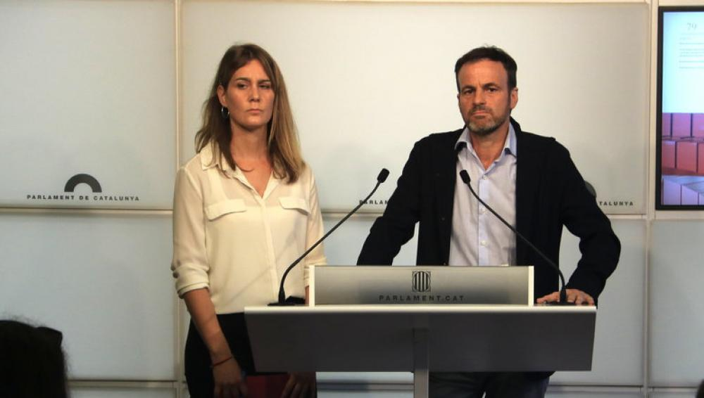 Jéssica Albiach i Jaume Asens, al Parlament
