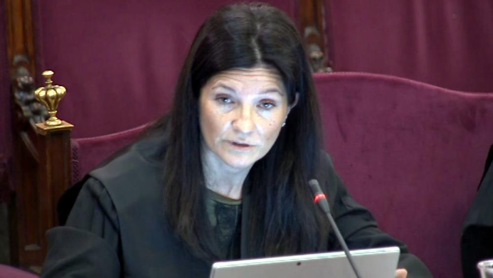L'advocada de l'Estat en el judici del procés, Rosa María Seoane