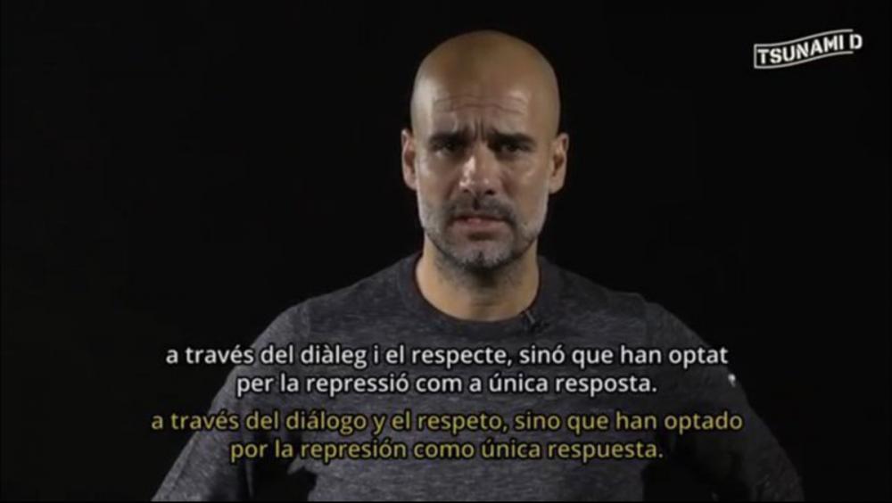 """Guardiola, en nom de Tsunami, demana a la comunitat internacional que """"intervingui en el conflicte"""""""