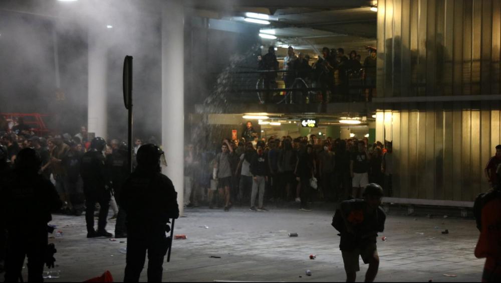 """Tsunami Democràtic desconvoca la manifestació a la T1 però alerta: """"Farem de cada ització una victòria"""""""