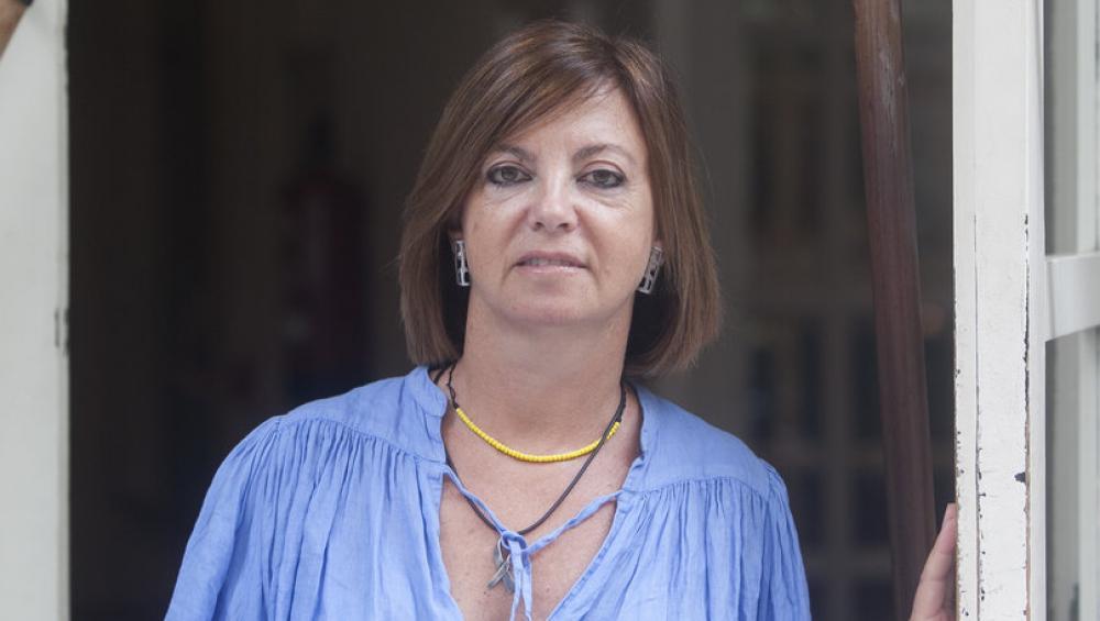 Meritxell Borràs, en una entrevista feta al mes de setembre