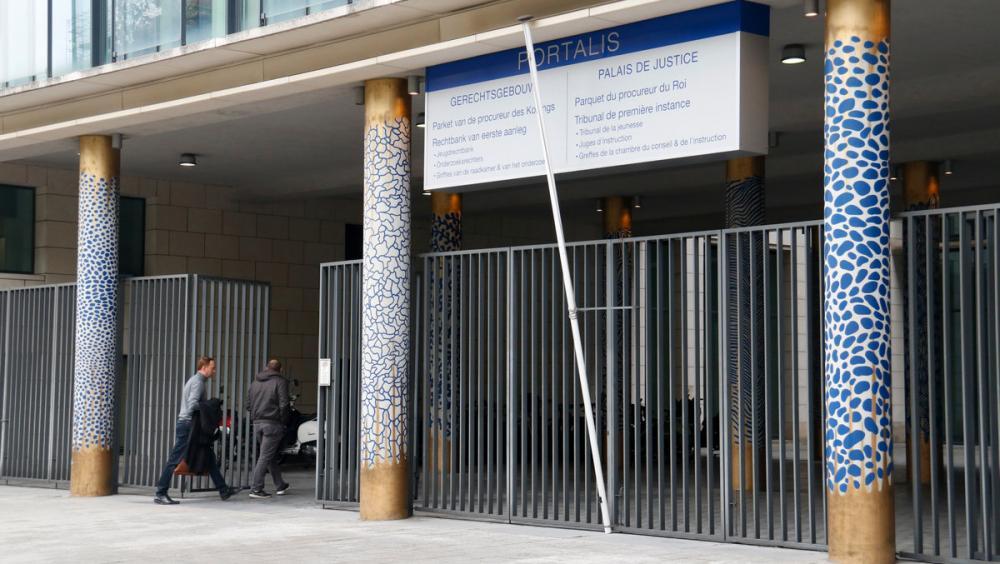 Edifici on es troba la fiscalia de Brussel·les