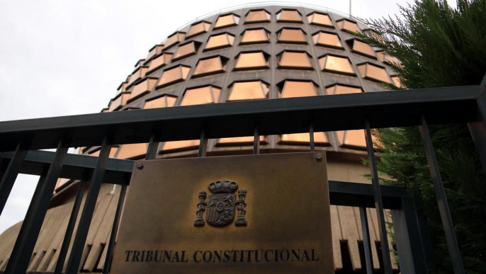 L'exterior del Tribunal Constitucional