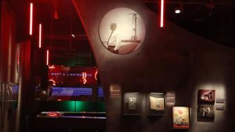 Un dels espais de l'exposició