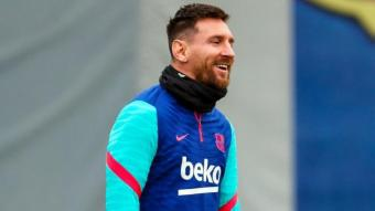 Messi, rialler ahir abans de dos partits crucials