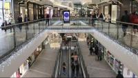 Interior d'un centre comercial a Reus