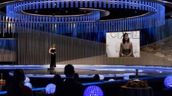 'Nomadland' i 'The Crown' triomfen en els Globus d'Or