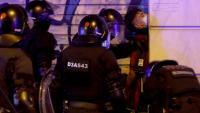 Un dels detinguts en els aldarulls de dissabte passat a Barcelona