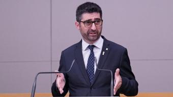 El conseller de Polítiques Digitals, Jordi Puigneró