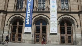 Edifici de la Universitat de Barcelona a la Gran Via