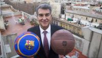 Joan Laporta, candidat a la presidència del Barça
