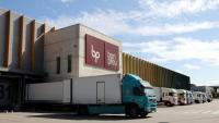 El magatzem logístic que Bon Preu té a Hostalets de Balenyà, a Osona