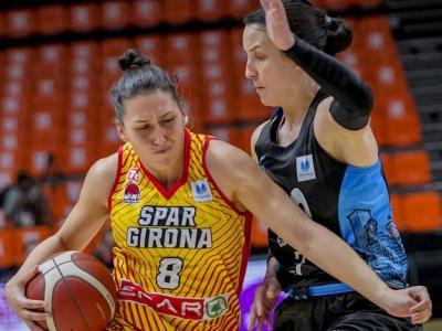 María Araújo: 16 punts (4/6 triples), 8 rebots i 19 de valoració en 24:17