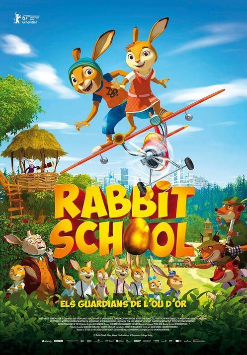 Rabbit School. Els guardians de l'Ou d'Or