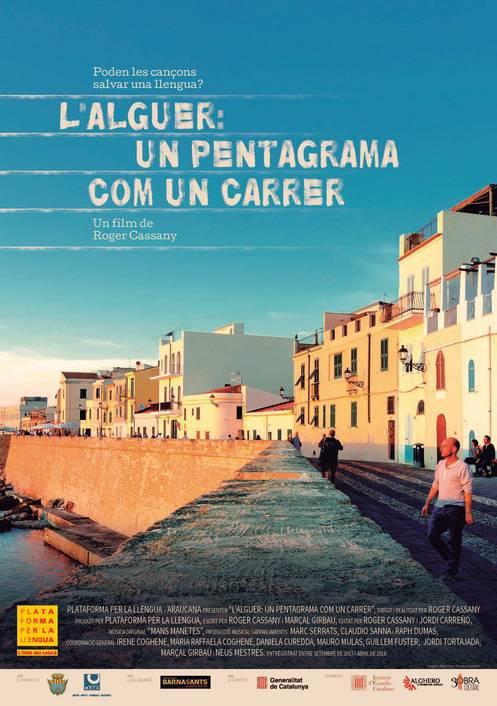 L'Alguer, un pentagrama com un carrer