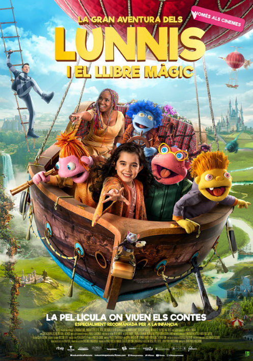 La gran aventura dels Lunnis i el llibre màgic